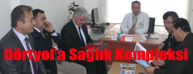 Parti hatay milletvekili hacı bayram türkoğlu dörtyol ağız ve