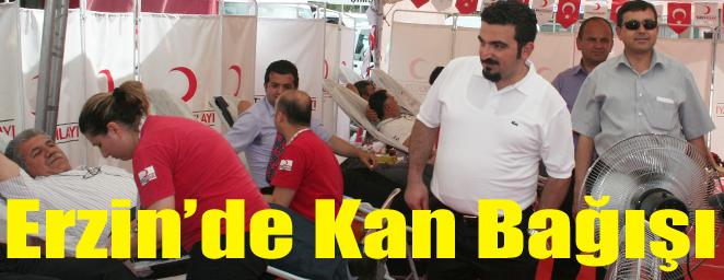 erzin kan bağışı