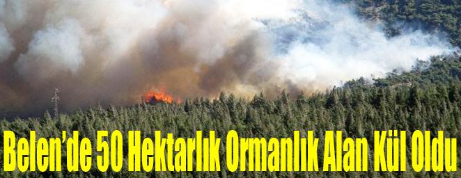 belen'de yangın