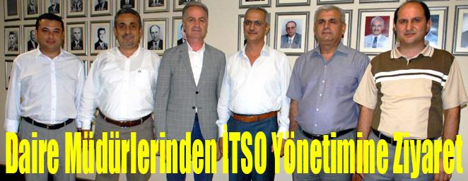 itso-daire müdürleri