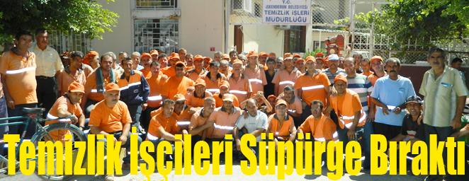 temizlik işçileri