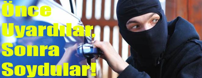 arabadan hırsızlık