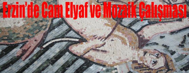 erzin mozaik çalışması