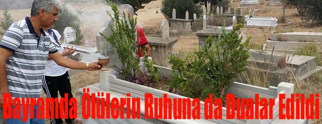 mezarlık ziyareti