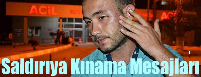 muhabirlere saldırı2