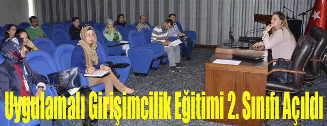 İTSO'da Uygulamalı Girişimcilik Eğitimi 2. Sınıfı Açıldı