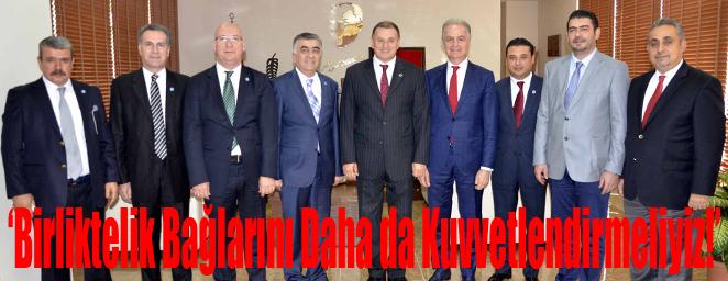 İTSO Yönetimi Başkan Savaş'ı Ziyaret Etti