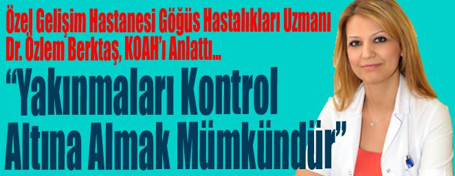 """""""Yakınmaları Kontrol Altına Almak Mümkündür"""""""
