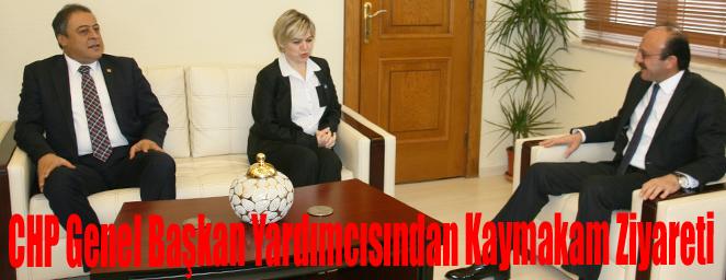 CHP Genel Başkan Yardımcısından Kaymakam Ziyareti