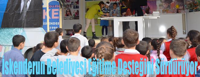 İskenderun Belediyesi Eğitime Desteğini Sürdürüyor